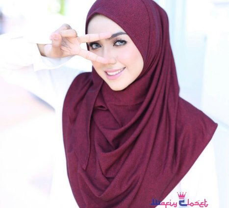 Instant Shawl Kayla Denim (Basic)